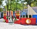 Детская площадка на территории